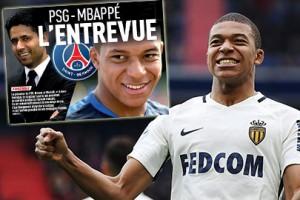 Chủ tịch PSG gặp gỡ Mbappe: Mbappe tiến thêm một bước tới Parc des Princes