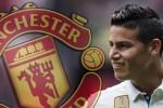 M.U xúc tiến đàm phán chiêu mộ James Rodriguez