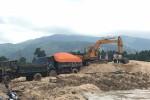 Bắt quả tang vụ khai thác gần 1.000m3 cát lậu
