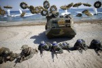 Vệ tinh do thám Mỹ phát hiện chiến hạm Triều Tiên nạp tên lửa