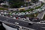 Thử nghiệm điều tiết giao thông khu vực sân bay Tân Sơn Nhất