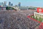 Biển người Triều Tiên rầm rộ xuống đường thề trung thành với Kim Jong-un