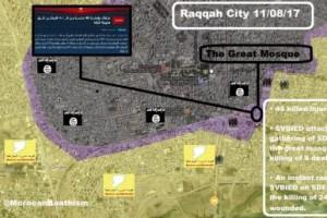 SDF tuột xích giữa cuộc đua vào Dier Ezzor