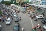 Đình chỉ thi công cầu vượt Nguyễn Thái Sơn - Nguyễn Kiệm