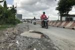Nhiều đoạn đường BOT ở Sài Gòn xuống cấp