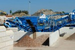 Nghiền nát xà bần làm vật liệu thay thế cát xây dựng