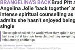 Đây mới là sự thật về cuộc tái hợp thế kỷ của Angelina Jolie và Brad Pitt?