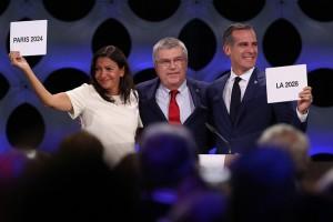 Pháp và Mỹ lần lượt đăng cai tổ chức Olympic 2024 và 2028