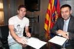 Chủ tịch Bartomeu xác nhận Barca đã gia hạn hợp đồng với Messi