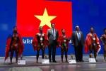 Phạm Văn Mách giành HCV thể hình thế giới