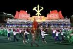 Pháo hoa rợp trời Bình Nhưỡng trong ngày kỷ niệm ông Kim Jong-il lên nắm quyền