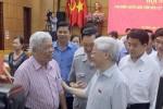 Cử tri Hà Nội chia sẻ với Tổng Bí thư việc xử lý ông Nguyễn Xuân Anh