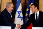 Gặp Thủ tướng Israel, ông Macron phản đối quyết định của Tổng thống Trump về Jerusalem