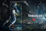 Ý tưởng điện thoại Galaxy S9 màn hình tràn ba cạnh