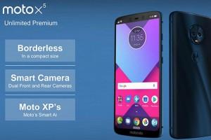 Moto 2018 sẽ mang phong cách iPhone X?