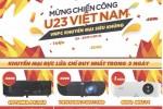 Nhu cầu máy chiếu tăng vọt trước ngày U23 Việt Nam đá chung kết