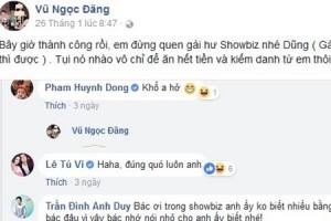 """Sao Việt nhắc nhở Bùi Tiến Dũng và U23 Việt Nam """"đừng yêu gái showbiz"""""""
