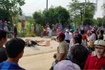 Xe bồn tông xe máy, cô gái trẻ chết tại chỗ