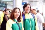 Lê Tú Chinh bật khóc khi lên đường đi Mỹ tập huấn