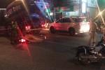 Xe bồn va 2 xe máy ở Bình Chánh, 1 người tử vong