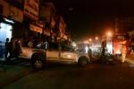 Xe khách tông xe bán tải, 1 người chết, 2 người bị thương nặng