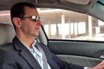 Ông Assad lái xe giữa Đông Ghouta: Đây đất nước điêu tàn!