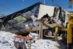 Xe tải tông hàng loạt người đi đường trên QL20, ít nhất 6 người tử vong