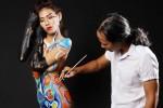 Body painting và ranh giới mong manh họa sĩ - người mẫu