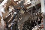 Sập nhà đang tháo dỡ ở Sài Gòn, một người chết