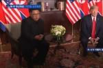 Ông Trump và ông Kim nói gì với nhau khi vừa gặp tại Singapore?