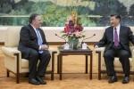 Ngoại trưởng Mỹ chỉ trích quân sự hóa Biển Đông khi hội đàm Tập Cận Bình
