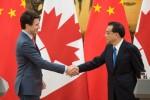"""""""Thập kỷ vàng"""" Canada - Trung Quốc gặp khó vì ông Trump"""