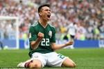 Lozano nói gì sau khi chọc thủng lưới đội tuyển Đức