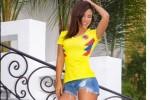 Magda Angel - Siêu mẫu bốc lửa cân hết châu Mỹ tại World Cup