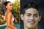 """Mẫu Nga sexy bị yêu cầu rời xa """"Vua phá lưới"""" Rodriquez vì... Colombia thua"""