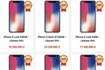 iPhone X hàng cũ, giá thấp, đổ về Việt Nam
