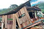 Di tản dân gần hang động Tham Luang Nang Non vì mưa lũ