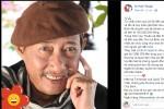 Nghệ sĩ Lê Bình xúc động khi gặp Mai Phương, Quốc Thuận chuyển 155 triệu đồng