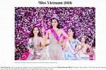 Báo chí nước ngoài hết lời khen nhan sắc tân Hoa hậu Việt Nam