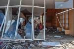 Cạn kiệt lương thực, người Indonesia đổ xô hôi của sau động đất