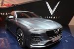 Chi tiết ngoại thất sedan VinFast LUX A2.0 vừa ra mắt hoành tráng tại Paris Motor Show 2018