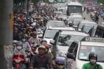TP.HCM: Quá tải giao thông tại cửa ngõ khu Nam