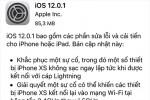 iPhone Xs, Xs Max được cập nhật sửa lỗi không sạc pin