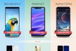 Bphone 3 đọ thông số với smartphone Việt