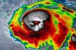 Siêu bão ở Mỹ giống đầu lâu trong ảnh vệ tinh