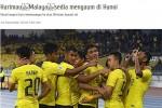 Báo Malaysia tin đội nhà sẽ quật ngã Việt Nam
