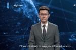 Người dẫn chương trình AI của Trung Quốc là giả?