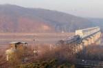 Đoàn tàu Hàn Quốc lần đầu tới Triều Tiên sau một thập kỷ