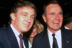 """Sự đối lập trong phong cách lãnh đạo giữa Trump và Bush """"cha"""""""