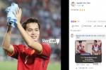 """Văn Toàn """"bắn tín hiệu"""" về khả năng ra sân trận gặp Malaysia"""
